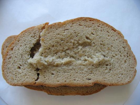 pane filante al centro