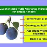 Gli Zuccheri della Frutta Non Fanno Ingrassare