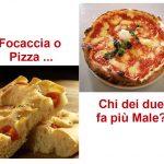 Focaccia o Pizza, chi dei due è Meglio?