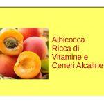 Albicocca Alcalinizzante
