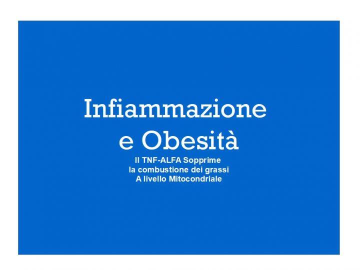 Tnf-alfa e Obesità