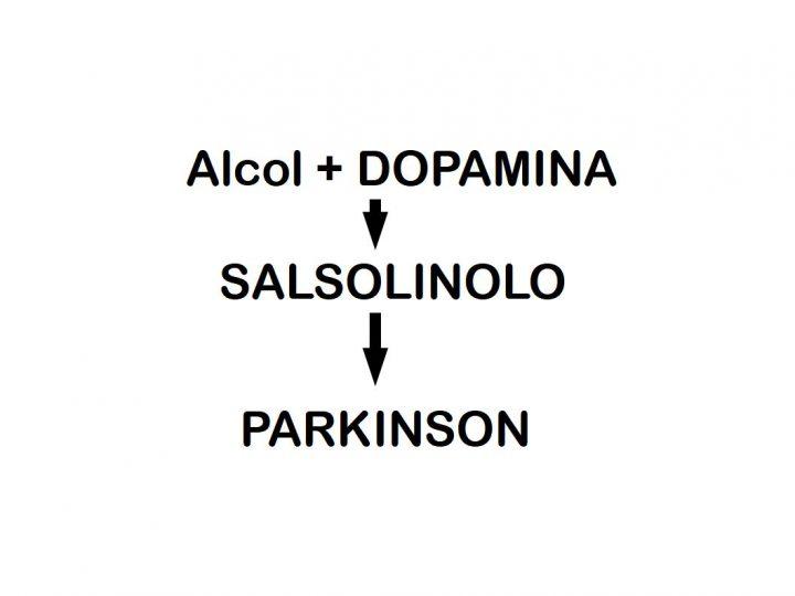 Alcol e Salsolinolo ed il cervello va in fumo!