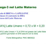 Omega-3 nel Latte Materno