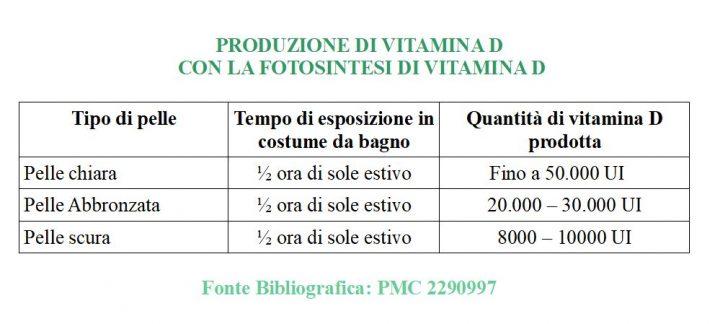 Fotosintesi della vitamina D