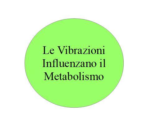 Le vibrazioni influenzano il metabolismo