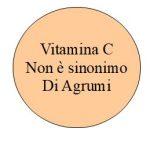 La Vitamina C non è sinonimo di Agrumi