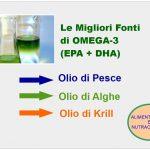 Olio Omega-3 delle Alghe